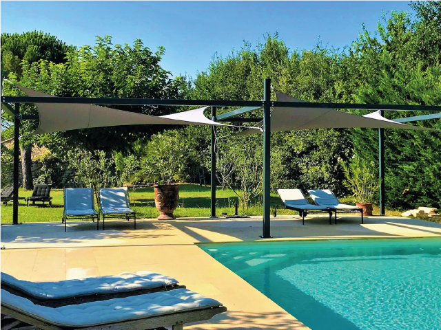Jardin & piscine